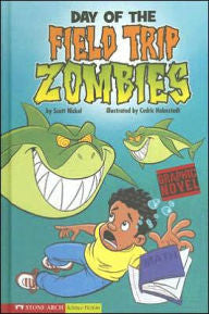 Zombies:  Day of the Field Trip Zombies (graphic novels) - EyeSeeMe African American Children's Bookstore