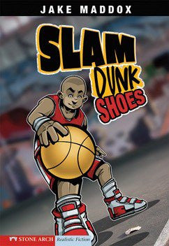 Slam Dunk Shoes - EyeSeeMe African American Children's Bookstore