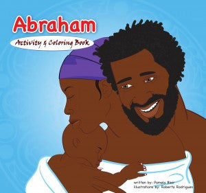 The Story of Abraham Coloring and Activity Book - EyeSeeMe African American Children's Bookstore