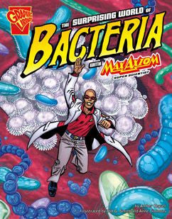 Max Axiom, Super Scientist - The Surprising World of Bacteria - EyeSeeMe African American Children's Bookstore