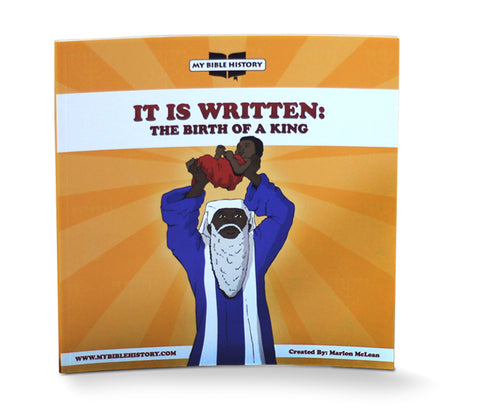 The Story of Jesus's birth (The Birth of a King) - EyeSeeMe African American Children's Bookstore