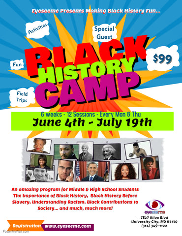 Summer Black History Camp 2018