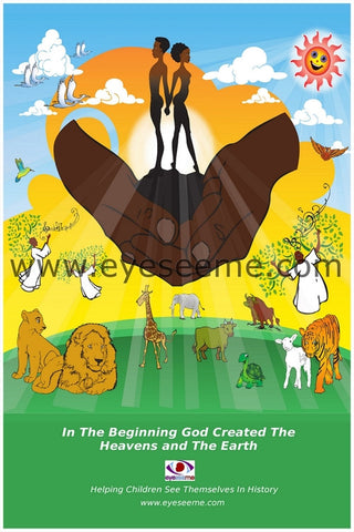 Creation Poster - EyeSeeMe African American Children's Bookstore