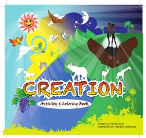 The Story of Creation Activity and Coloring Book - EyeSeeMe African American Children's Bookstore