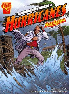 Max Axiom, Super Scientist - The Whirlwind World of Hurricanes - EyeSeeMe African American Children's Bookstore