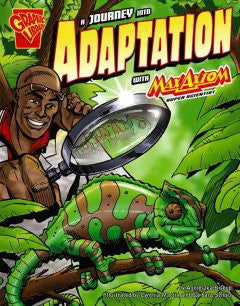 Max Axiom, Super Scientist - A Journey into Adaptation - EyeSeeMe African American Children's Bookstore
