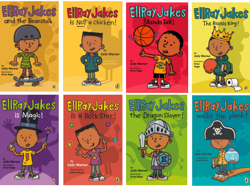 Ellray Jakes Series (8 titles) - EyeSeeMe African American Children's Bookstore