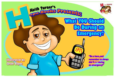 What you should do in an Emergency? - EyeSeeMe African American Children's Bookstore