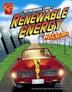 Max Axiom, Super Scientist - A Refreshing Look at Renewable Energy - EyeSeeMe African American Children's Bookstore