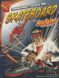 Max Axiom, Super Scientist - Engineering a Totally Rad Skateboard - EyeSeeMe African American Children's Bookstore