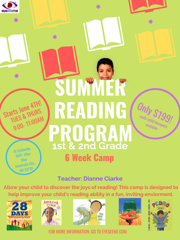 Summer Reading Program - 1st & 2nd Grade