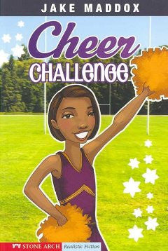 Jake Maddox - Cheer Challenge - EyeSeeMe African American Children's Bookstore