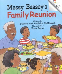 Messy Bessey's Family Reunion - EyeSeeMe African American Children's Bookstore