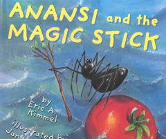 Anansi and the Magic Stick - EyeSeeMe African American Children's Bookstore