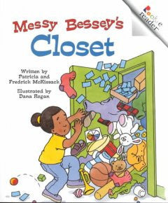 Messy Bessey's Closet - EyeSeeMe African American Children's Bookstore