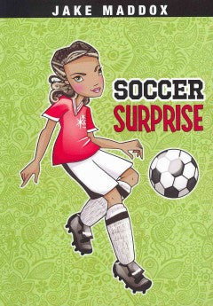 Jake Maddox: Soccer Surprise - EyeSeeMe African American Children's Bookstore