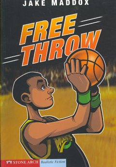 Jake Maddox: Free Throw - EyeSeeMe African American Children's Bookstore