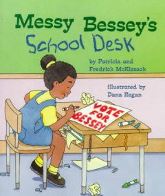 Messy Bessey's School Desk - EyeSeeMe African American Children's Bookstore