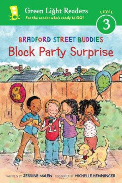 Bradford Street Buddies: Block Party Surprise - EyeSeeMe African American Children's Bookstore