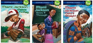Stepping Stone Books - Miami Jackson Series (3 Titles) - EyeSeeMe African American Children's Bookstore