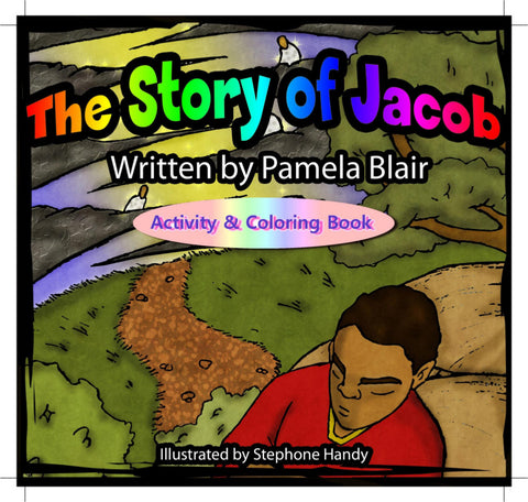 The Story of Jacob Activity and Coloring Book - EyeSeeMe African American Children's Bookstore
