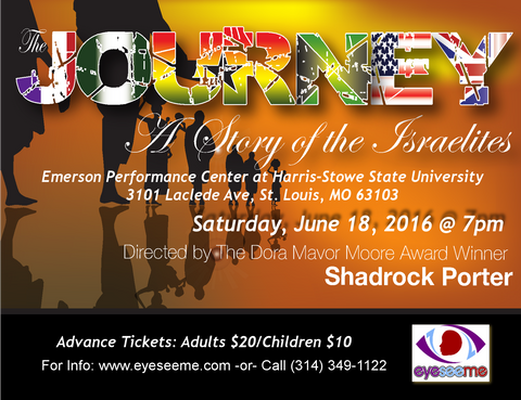 The Journey, A Story of The Israelites - Eyeseeme Fundraiser - EyeSeeMe African American Children's Bookstore  - 1