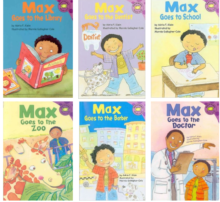 Max Goes Series (6 Titles) - EyeSeeMe African American Children's Bookstore