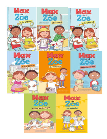 Max and Zoe collection of 8 readers