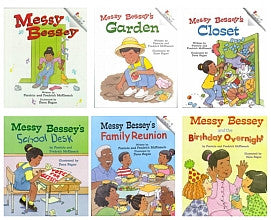 Messy Bessy's Series (Set of 6) - EyeSeeMe African American Children's Bookstore