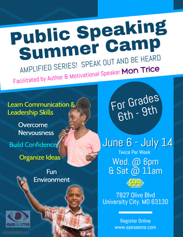 Summer Public Speaking Camp