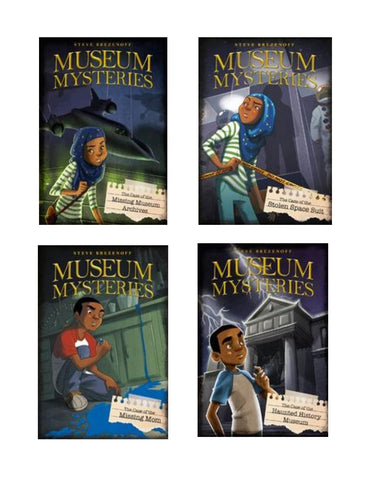 Museum Mysteries (4 Titles)
