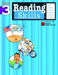 Workbook: Reading Skills  (Grade 3) - EyeSeeMe African American Children's Bookstore