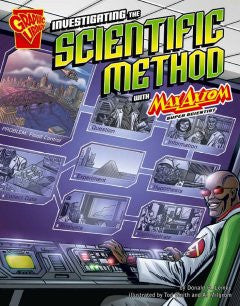 Max Axiom, Super Scientist - Investigating the Scientific Method - EyeSeeMe African American Children's Bookstore