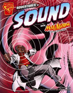 Max Axiom, Super Scientist - Adventures in Sound - EyeSeeMe African American Children's Bookstore