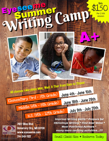 Summer Writing Camp 2018