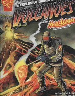 Max Axiom, Super Scientist - The Explosive World of Volcanoes - EyeSeeMe African American Children's Bookstore