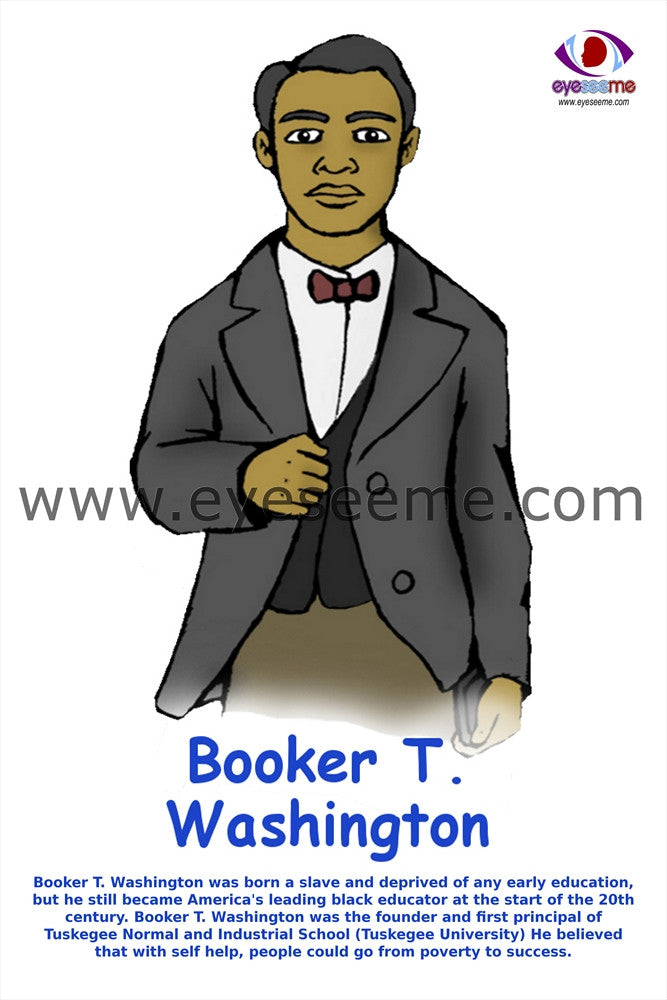 Booker T. Washington - EyeSeeMe African American Children's Bookstore