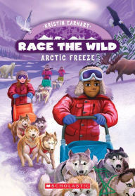 Race the Wild Series #3 Arctic Freeze - EyeSeeMe African American Children's Bookstore