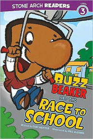 Buzz Beaker and the Super Fast Car (Level 3) - EyeSeeMe African American Children's Bookstore