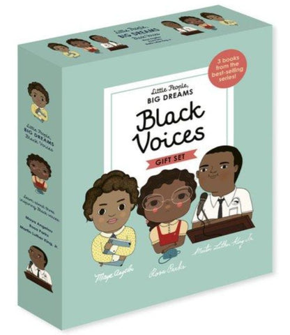 Little People, BIG DREAMS: Black Voices: 3 books from the best-selling series!