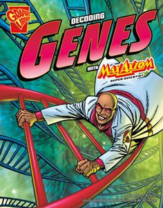 Max Axiom, Super Scientist - Decoding Genes - EyeSeeMe African American Children's Bookstore