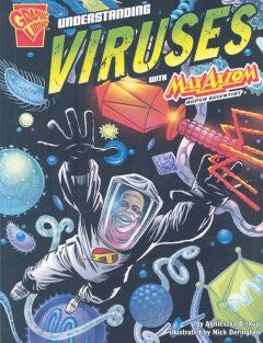 Max Axiom, Super Scientist - Understanding Viruses - EyeSeeMe African American Children's Bookstore