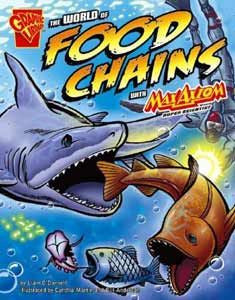 Max Axiom, Super Scientist - The World of Food Chains - EyeSeeMe African American Children's Bookstore