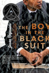 The Boy in the Black Suit by Jason Reynolds - EyeSeeMe African American Children's Bookstore