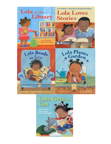 Lola series (5 titles)