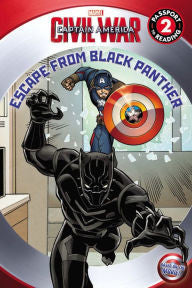 Marvel's Captain America: Civil War: Escape from Black Panther - EyeSeeMe African American Children's Bookstore
