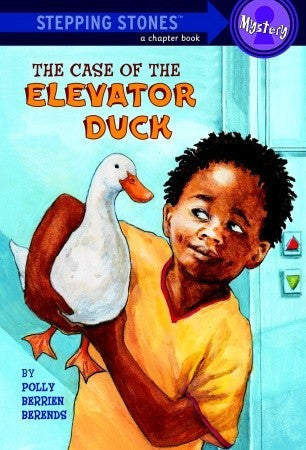 Stepping Stone Books - The Case of The Elevator Duck - EyeSeeMe African American Children's Bookstore