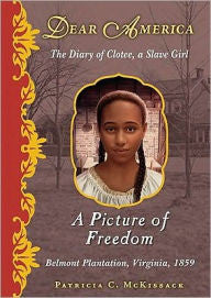 Dear America Series : A Picture of Freedom: The Diary of Clotee, a Slave Girl , Belmont Plantation, Virginia, 1859 - EyeSeeMe African American Children's Bookstore
