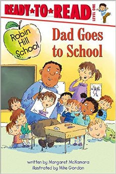 Ready to Read - Dad Goes to School - EyeSeeMe African American Children's Bookstore