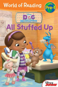 World of Reading: Doc McStuffins All Stuffed Up: Pre-Level 1 - EyeSeeMe African American Children's Bookstore